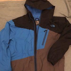 Men's North Face cryptic coat